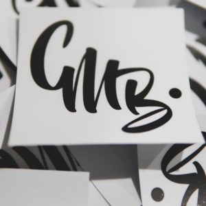 CMB Apparel Graffiti Logo Sticker