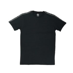 CMB Woven Tape Tee black
